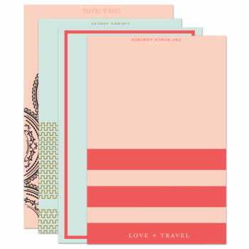 Love & Travel Stationery Set