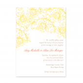Blossom Wedding Invite