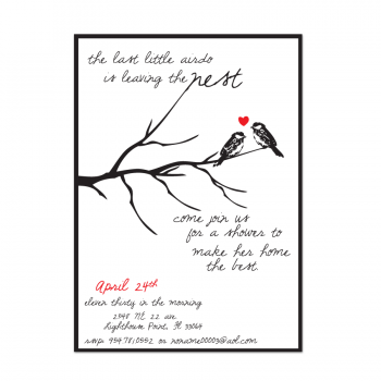 Nestfully Bridal Shower Invite