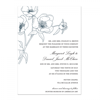 Maggie Wedding Invitation