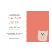 Owl Baby Shower Invite