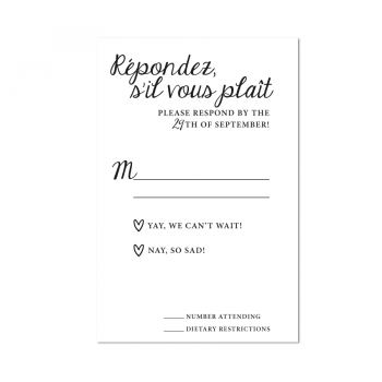 Reply Card