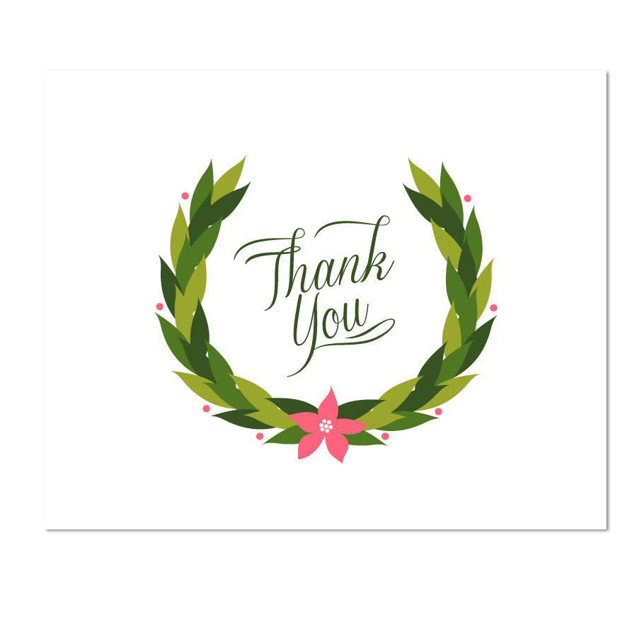 Thank You Holiday | New Calendar Template Site