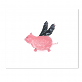 When Pigs Fly Stationery
